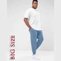 Celana Panjang Jogger Training Pria dewasa BIG SIZE Polos