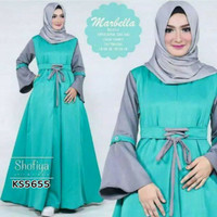 Baju/ jubah/ gamis/ Busana Muslimah KS5655 balotelly marbella