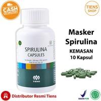 Tiens Masker Spirulina Herbal Alami Tiens [10 Kapsul]