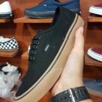 Sepatu vans authentic black gum kode waffle IFC Premium quality