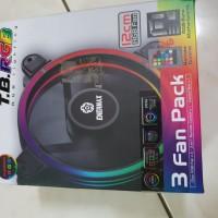 Enermax Fan Case 12CM TB RGB + control led 3pcs fan