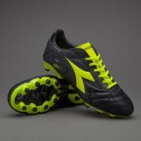 Sepatu Bola Diadora original Match Winner LT MG14 Black 101172372C0004