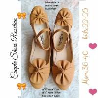 Flatshoes couple/sandal couple/flat couple/couple ibu dan anak