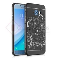Samsung Galaxy C5 Pro - Cocose Dragon Armor Soft Case Cover Casing Ori