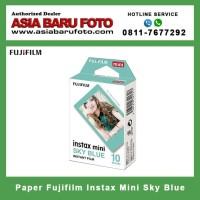 Jual Fujifilm Paper Instax Mini Sky Blue Frame Kota Pekanbaru Asia Baru Foto Shop Tokopedia