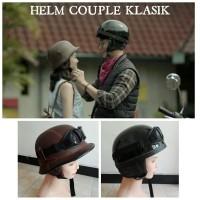 Helm Couple Murah Klasik  Helm Retro Couple Nazi Chips Helm Couple Dil