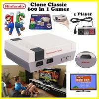 Jual Mainan Anak Nintendo NES Clone Classic Console HDMI 600 In 1 Game (1P) Murah