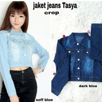 Jaket outer pendek mini jacket jeans denim levis luaran baju wanita