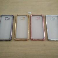 TPU Anti Crack List Chrome Case - Samsung Galaxy C5 Pro