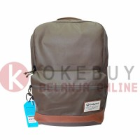 Tas Merk Bodypack 2806 R.L.T Brown Paris /Ransel/backpack