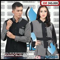 Sarimbit baju couple seragam keluarga batik baju muslim sarimbit4