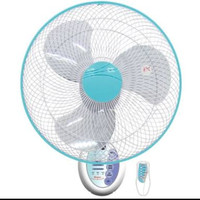 Kipas angin dinding tipe MWF 4001RC 16 inch ada remot Wall Fan Maspion