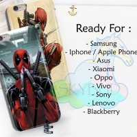 DEADPOOL 2 Hardcase Case Semua Jenis HP XIAOMI SAMSUNG IPHONE OPPO DLL
