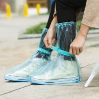 Cover Jas Hujan Sepatu pelindung sepatu waterproof rain shoe