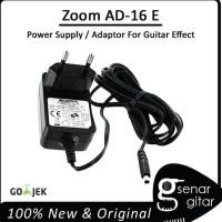 Promo Zoom Ad-16 E Power Supply Adaptor Efek Gitar 9V 500Ma (Guitar