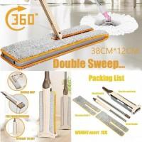 Alat Pembersih rumah Pel Lantai Switch N Clean Double Sided Microfiber