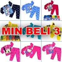 Baju Tidur Piyama Bayi Maruno umur 6-18 bulan