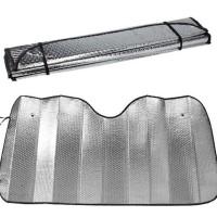 Sun Shield / Pelindung panas dashboard kaca mobil - size 130CM X 60CM