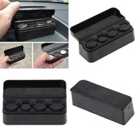 Car Coin Pocket Case Storage 4 Slot Holder Organizer Tempat Uang Koin
