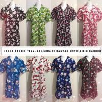 Harga baju tidur daster dewasa wanita fashion murah tanah | antitipu.com