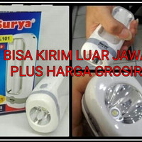 Jual Senter Lampu SURYA SYT L101 Emergency Led Darurat Lamp Lentera Murah