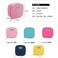Cosmetic Pouch Cable Pouch Tas Kosmetik Charger Dompet Serbaguna A558