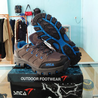 Sepatu Gunung Hiking Trekking SNTA 401 Blue Grey no rei eiger jws tnf