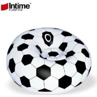 Intime Plastics Sofa Angin Bola Soccer Perlengkapan Nonton Piala Dun