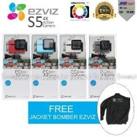 4K WiFi Touch Screen - EZVIZ S5 Action Sports Camera oke Big Diskon