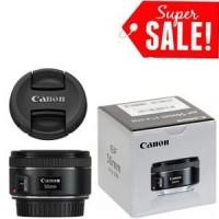 Jual f1 8 STM Lensa - Canon EF 50mm oke Berkualitas Murah