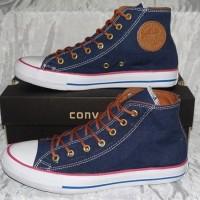 Sepatu Converse Allstart Tinggi Hight Grade Original  Warna Biru Navy
