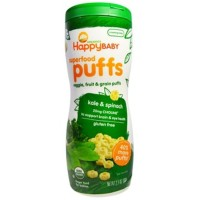 Happy Baby Puffs Kale & Spinach 60gr 852697001200