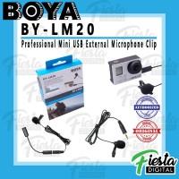 Microphone BOYA BY-LM20 Professional Mini USB External Microphone Clip