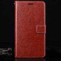 Flip Cover PU Leather Premium Cover Case Casing HP Samsung Galaxy On8