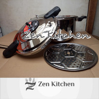 Panci presto 14 liter pressure cooker stainless 32cm