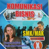 Buku SMK Komunikasi Bisnis Kelas X