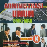 Buku SMK Administrasi Umum Kelas X