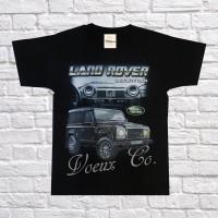 Harga kaos anak otomotif land rover 1 hitam cotton combed t shirt | antitipu.com
