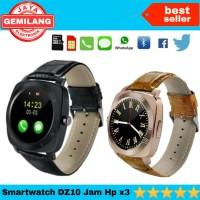 Kado spesial smartwach DZ10 jam tangan X 3 Hp android canggih