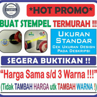 Hot Promo!! Stempel Flash/Warna TERMURAH . (Ukr. Standar)