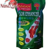 Makanan / Pakan Ikan Koi Hokky Fishfood Spirulina Color Enhancer Murah