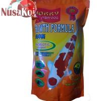 Pelet / Makanan / Pakan Ikan Hokky Fish Food Growth Formula Probiotic