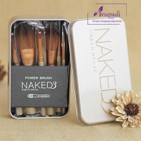 Kuas Make up Naked 3 Set isi 12 pcs / Makeup Brush Naked