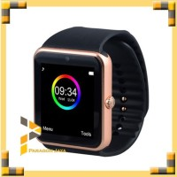 EKLUSIF Smartwatch GT08 - Gold Emas Smart Watch GT08 Top Murah Bagus