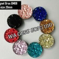 Best Magnet Bros BM08 size 20mm Asesoris Hijab Kerudung Pasmina