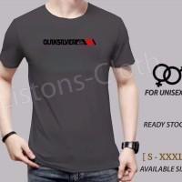 terbaru kaos quiksilver Abu 1 baju distro surfing tshirt branded pria