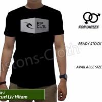Harga best seller kaos ripcurl sport surfing t shirt baju distro cowok | Pembandingharga.com