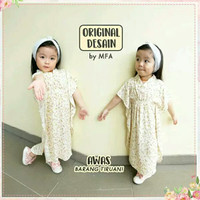 Baju Muslim Anak tunik shabby kaftan gamis baju muslim anak katun
