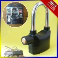 Termurah - Gembok Alarm Anti Maling ring panjang sale