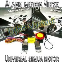 Alarm motor vinyx nmax aerox xmax ninja 250 r15 gsx 150 r25 mt LIMITED